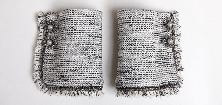 RTW . Tweed Noir & Blanc